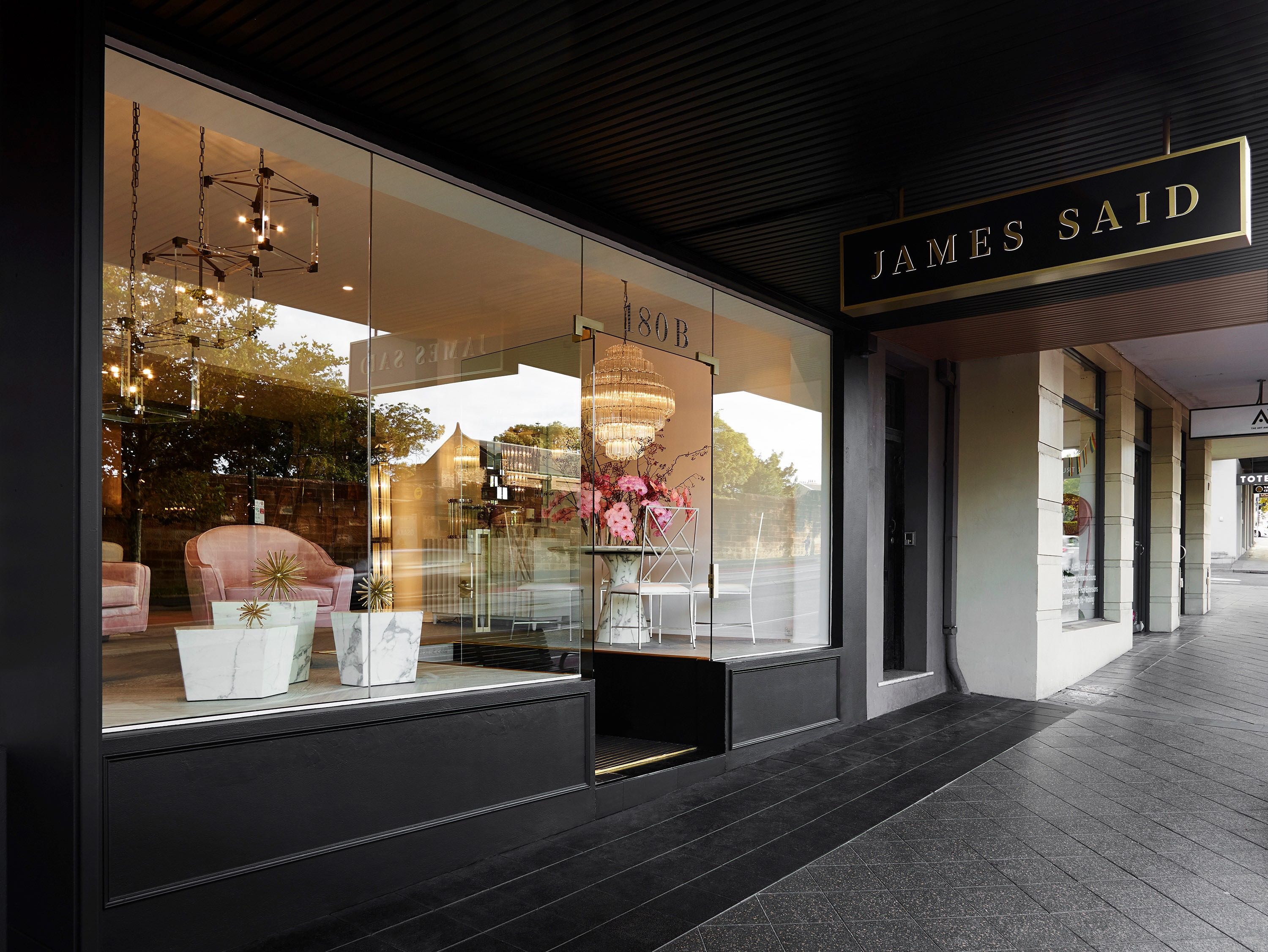 jamessaid store front copy